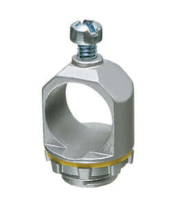 Arlington  1 in. L Round  Box Holder  1.55 in. Galvanized Steel
