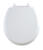 Mayfair Slow Close Round White Molded Wood Toilet Seat