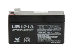 Universal Power Group  UB1213  1.3 amps Lead Acid Battery