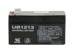 Universal Power Group  UB1213  1.3 amps Lead Acid Automotive Battery