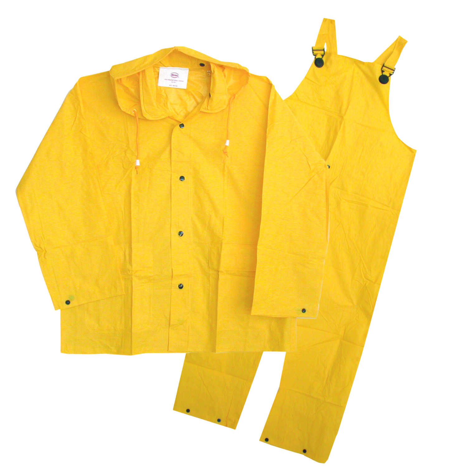 Boss  PVC-Coated Polyester  Rain Suit  Yellow