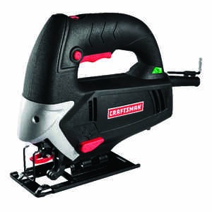 Craftsman  11/16 in. Corded  Keyless Jig Saw  5 amps 3000 spm