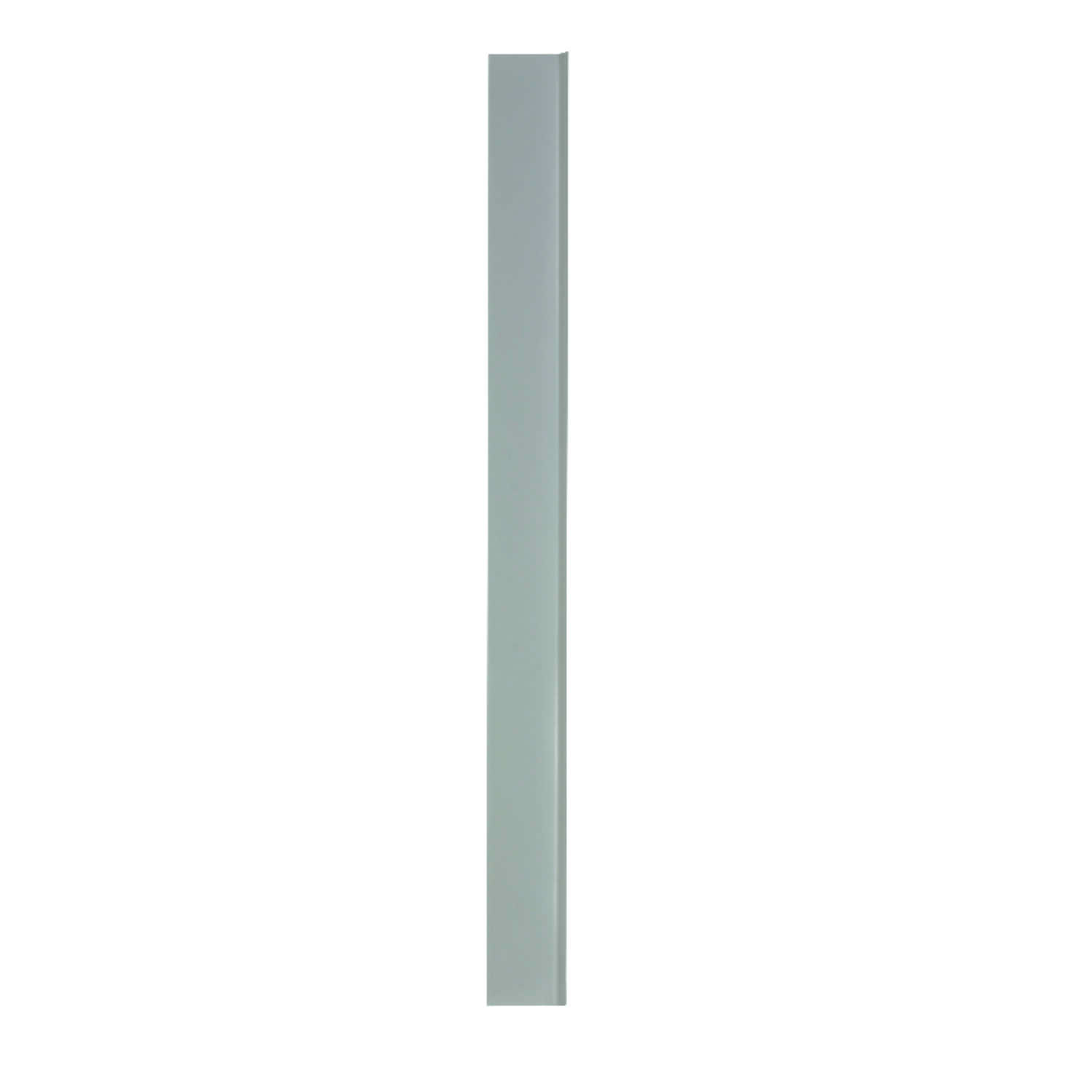 M-D Building Products  1/8 in. L Prefinished  Silver  Wall Base  Vinyl