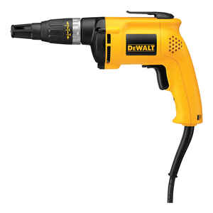DeWalt  VSR  1/4  Corded  Keyless  Drywall Screw Gun  6 amps 120 volt 5300 rpm 60 in-lb 1 pc.