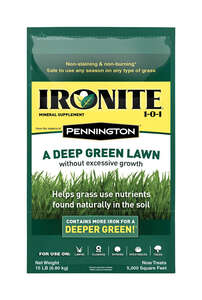 Ironite II  Organic 1-0-1  Mineral Supplement  For All Grass Types
