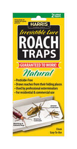 Harris  Irresistible Lure  Roach Trap  2 traps pk