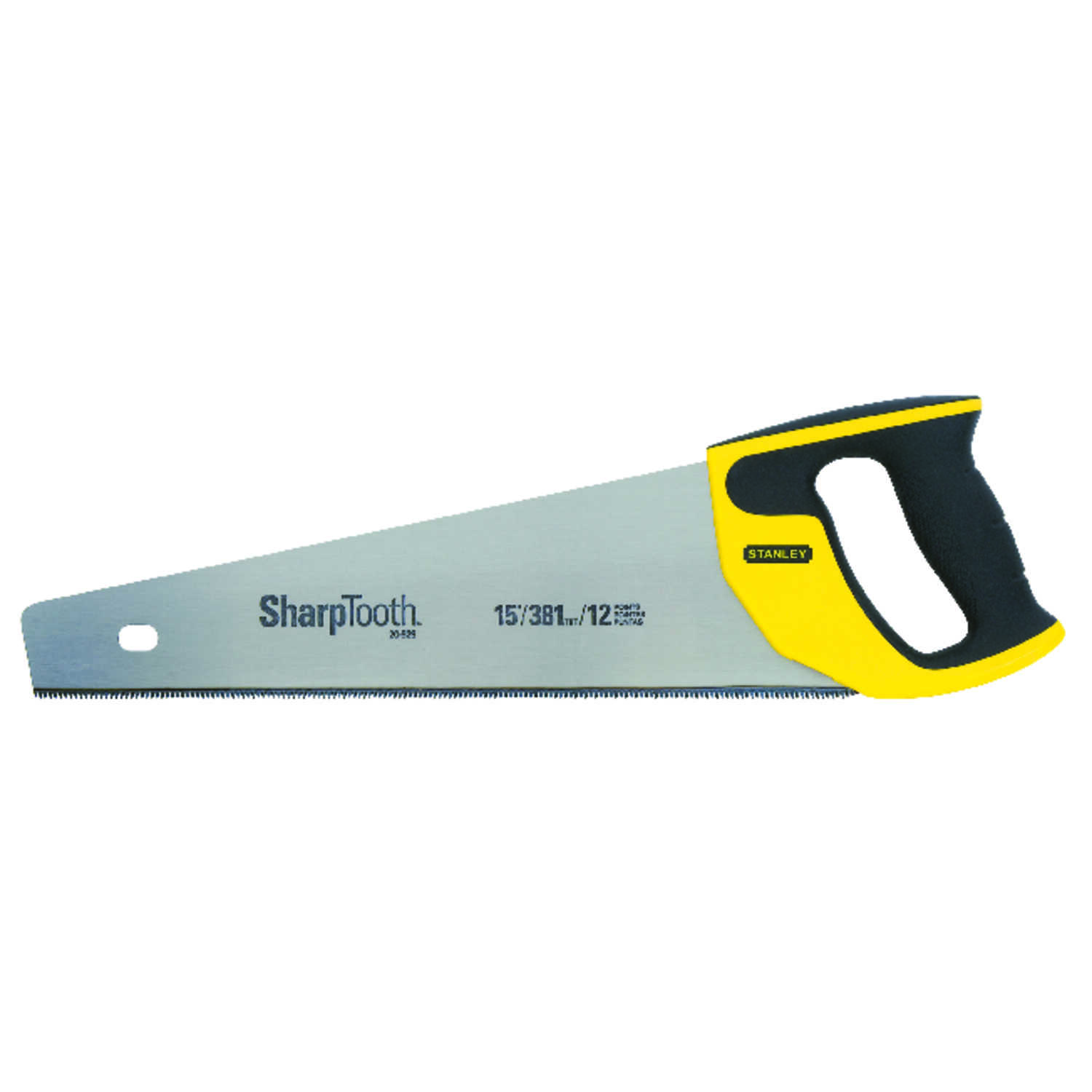 Stanley  SharpTooth  15 in. Steel  Hand Saw  11 TPI