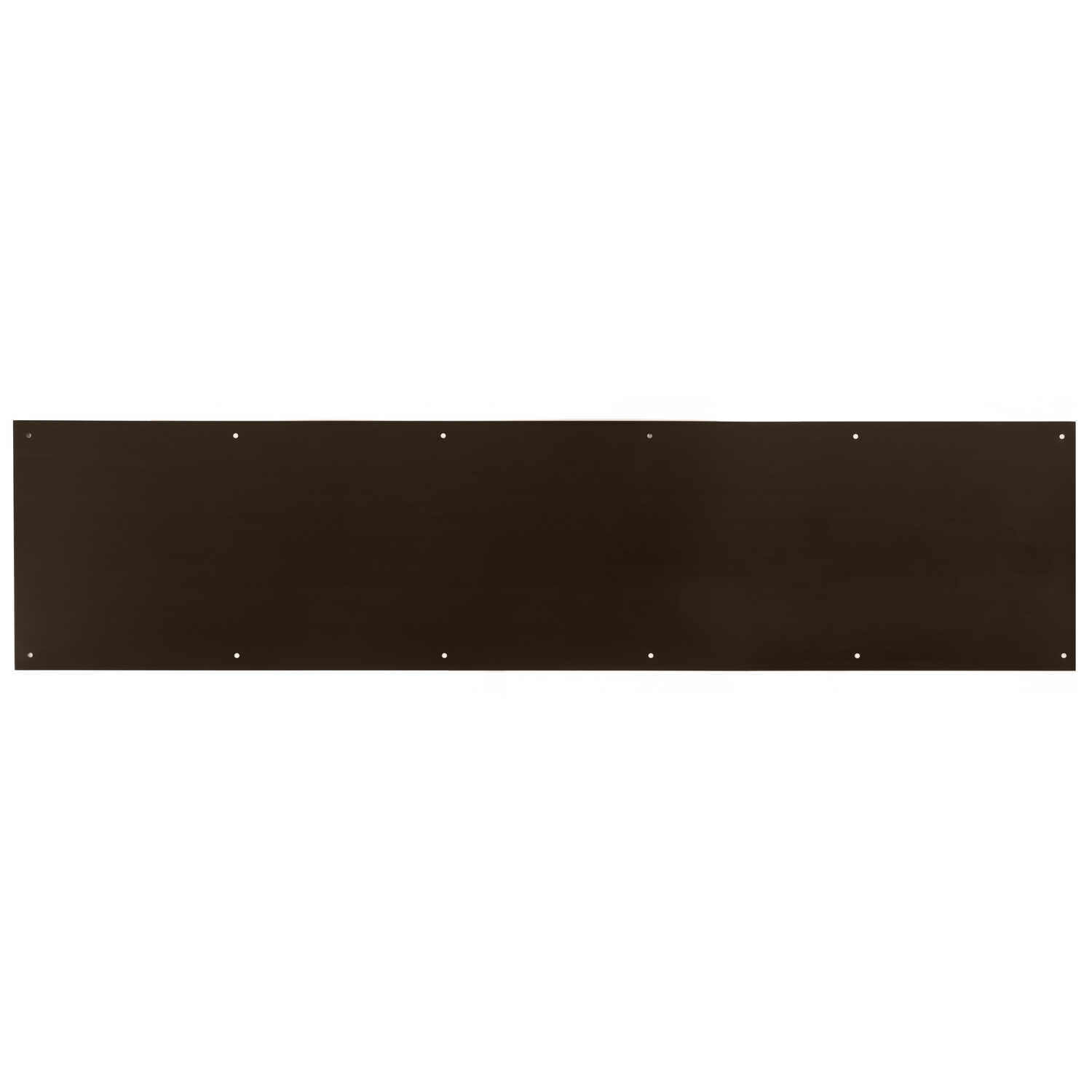 Ace  8 in. H x 34 in. L Oil Rubbed Bronze  Brass  Kickplate