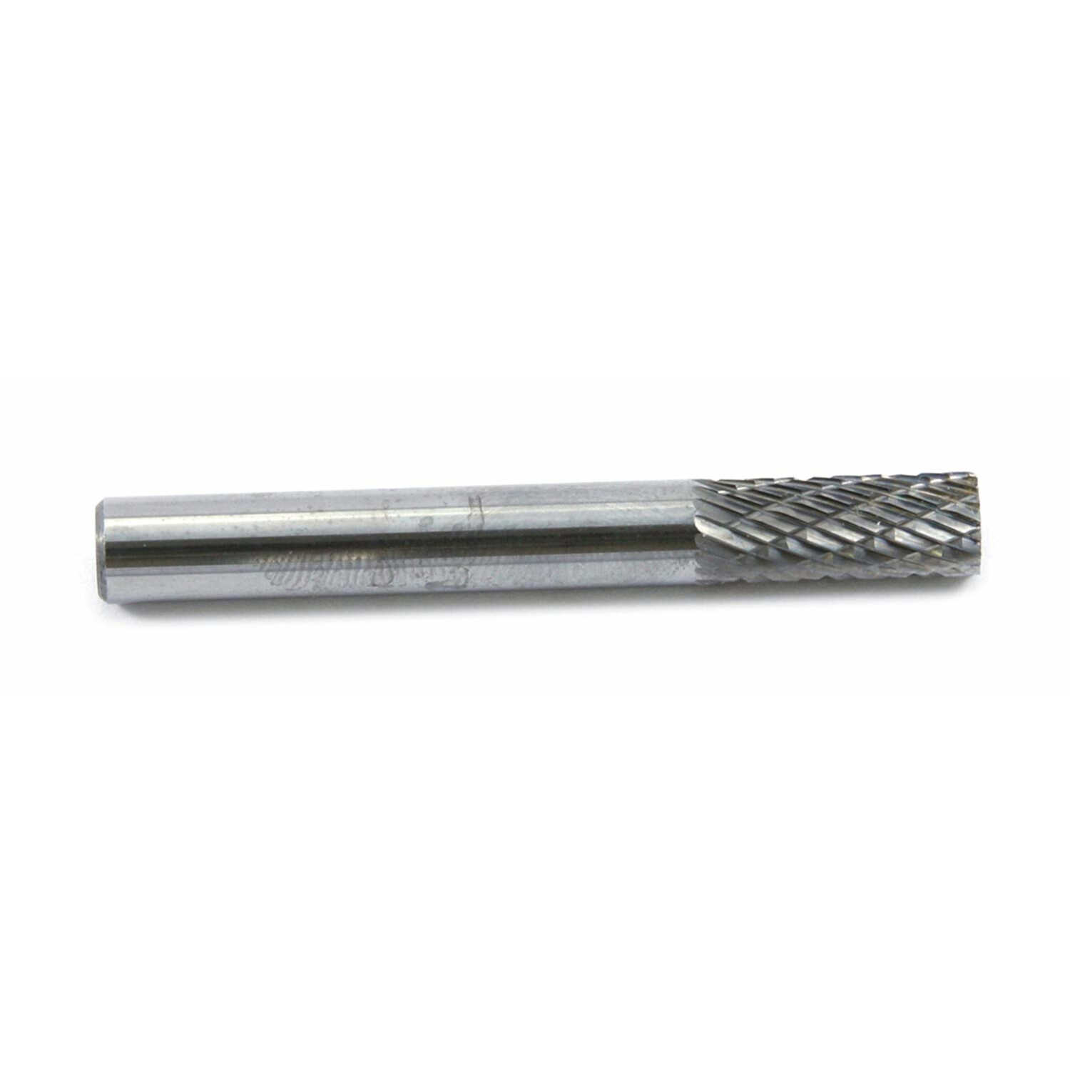 Forney  1/4 in. Dia. x 2.5 in. L Cylinder  Burr  Tungsten Carbide  1 pc.