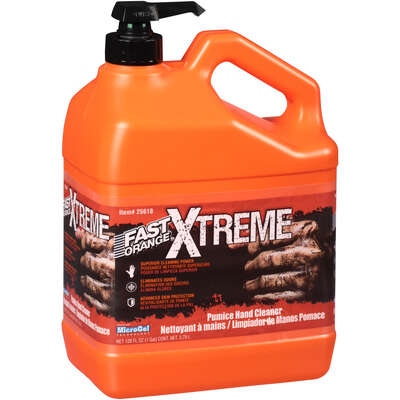 Permatex  Fast Orange Xtreme  Orange Scent Pumice Hand Cleaner  128 oz.