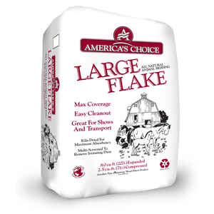 Americas Choice  Large Flake  10  Wood  Animal Bedding