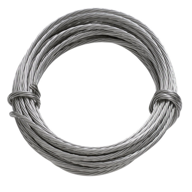 HILLMAN 9 ft. L OOK Wire Stainless Steel - Ace Hardware