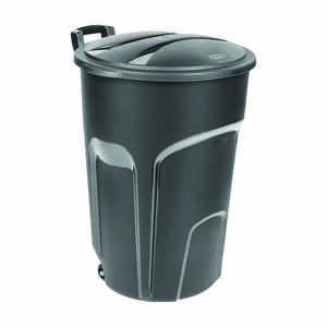 Ace  Rubbermaid Roughneck  32 gal. Resin  Garbage Can