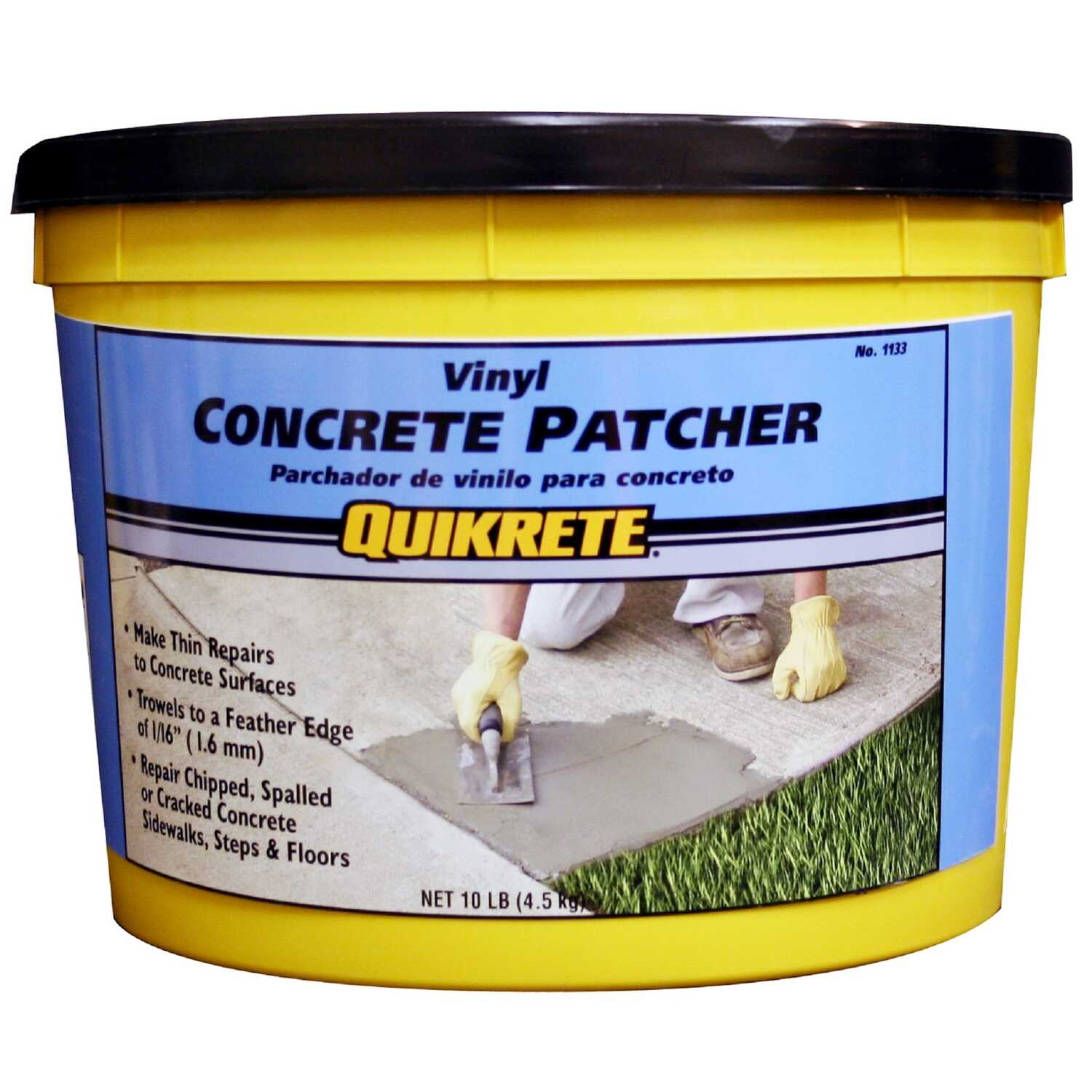 Quikrete  Vinyl  Concrete Patch  10 lb.
