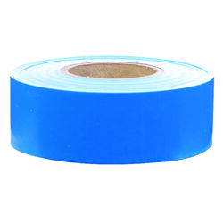 C.H. Hanson  300 ft. L x 1.2 in. W Plastic  Flagging Tape  Blue