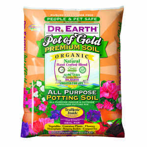 Dr. Earth  Pot of Gold  Organic Potting Soil  8 quart, dry