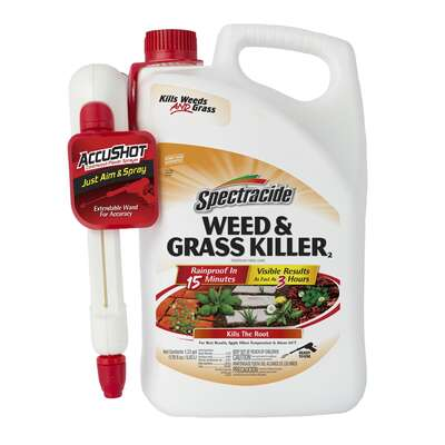 Spectracide  AccuShot  Weed and Grass Killer  RTU Liquid  1.33 gal.