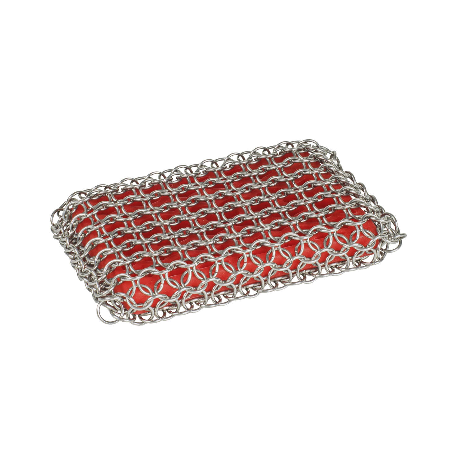Lodge  Chainmail  Heavy Duty  Scrubbing Pad  For Cast Iron 8.71 in. L 1 pk