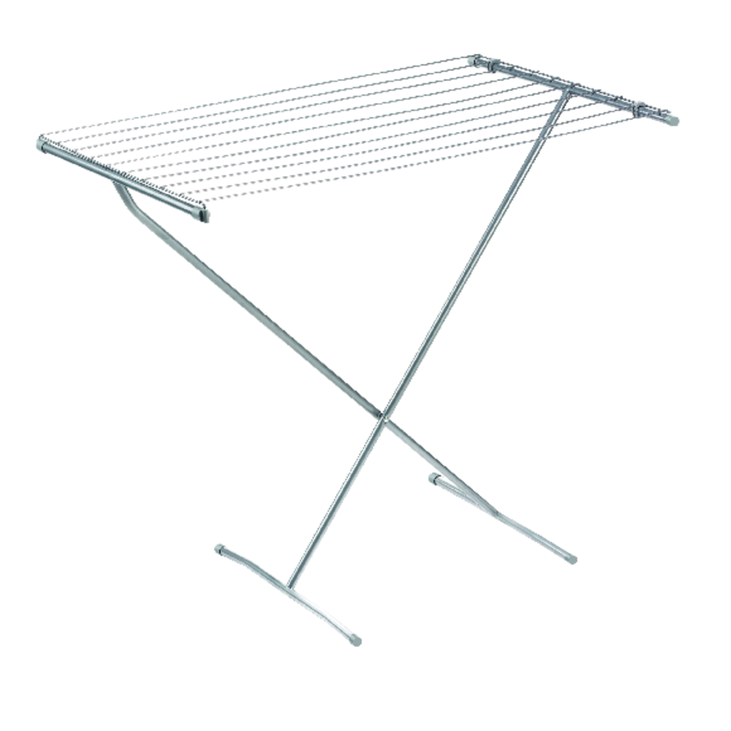 Polder  32 in. W x 32 in. H x 23 in. D Clothes Drying Rack  Steel