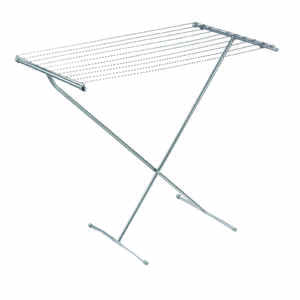 Polder  32 in. H x 32 in. W x 23 in. D Steel  Clothes Drying Rack