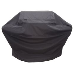 Char-Broil  Black  Grill Cover  For Performance 3-4 Burner 62 in. W x 42 in. H