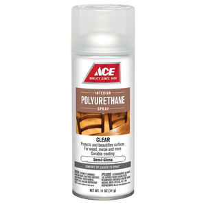 Ace  Semi-Gloss  Clear  Polyurethane Spray  11 oz.