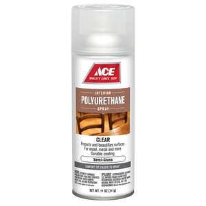 Ace  Semi-Gloss  Clear  11 oz. Polyurethane Spray