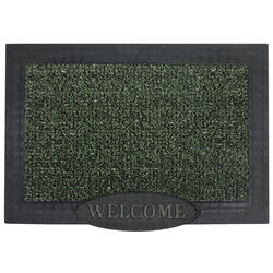 GrassWorx  Evergreen  Polyethylene/Rubber  Nonslip Door Mat  36 in. L x 24 in. W