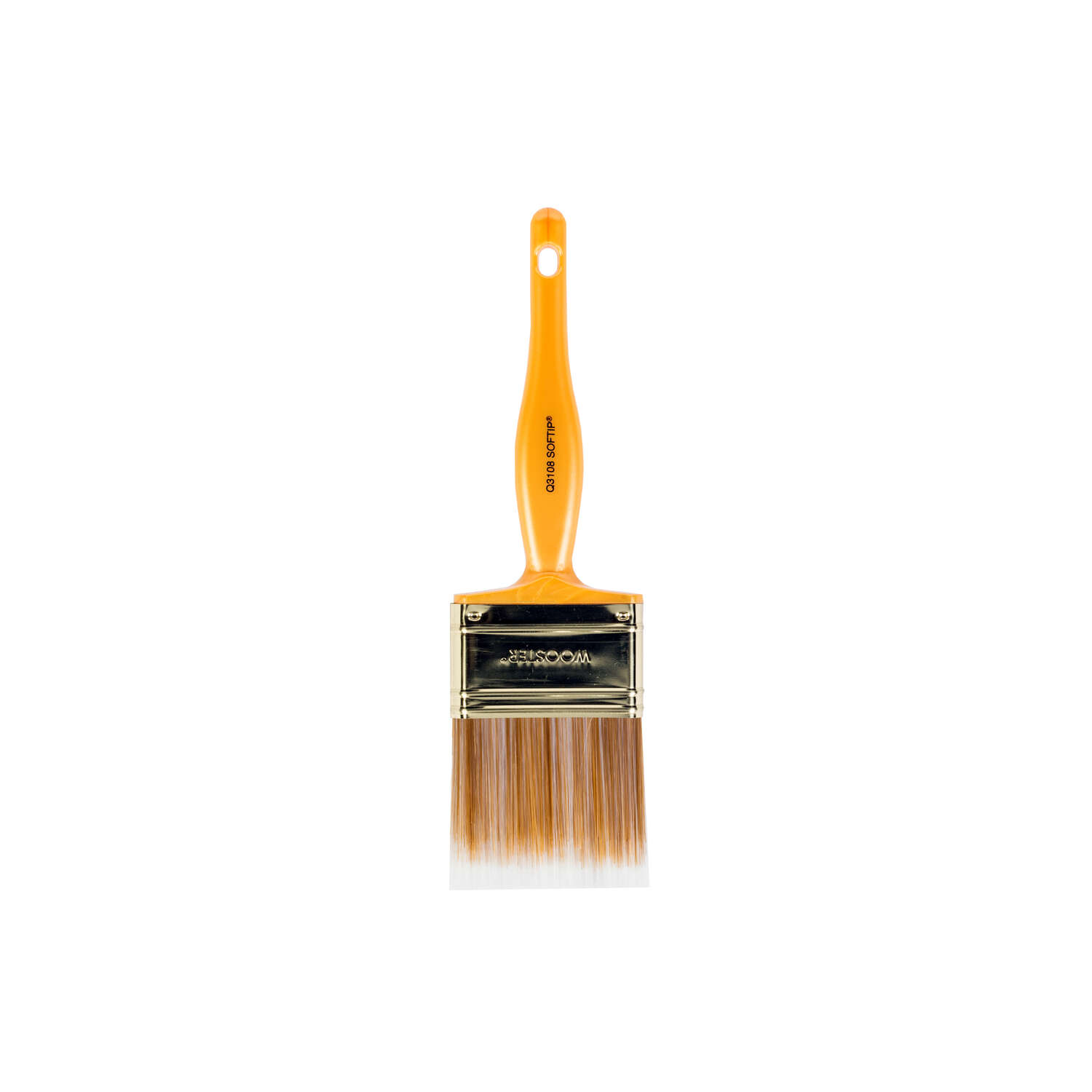 Wooster  Softip  2 1/2 in. W Flat  Synthetic Blend  Paint Brush