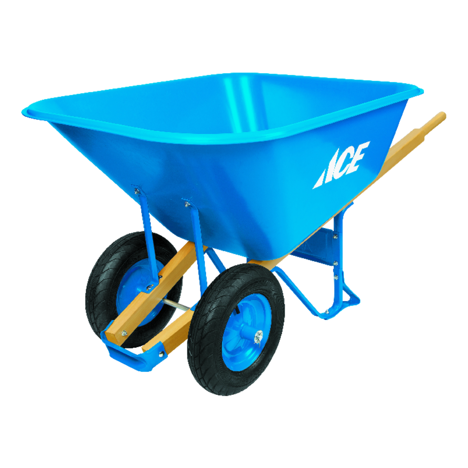 Ace Poly Wheelbarrow 10 cu. ft. - Ace Hardware