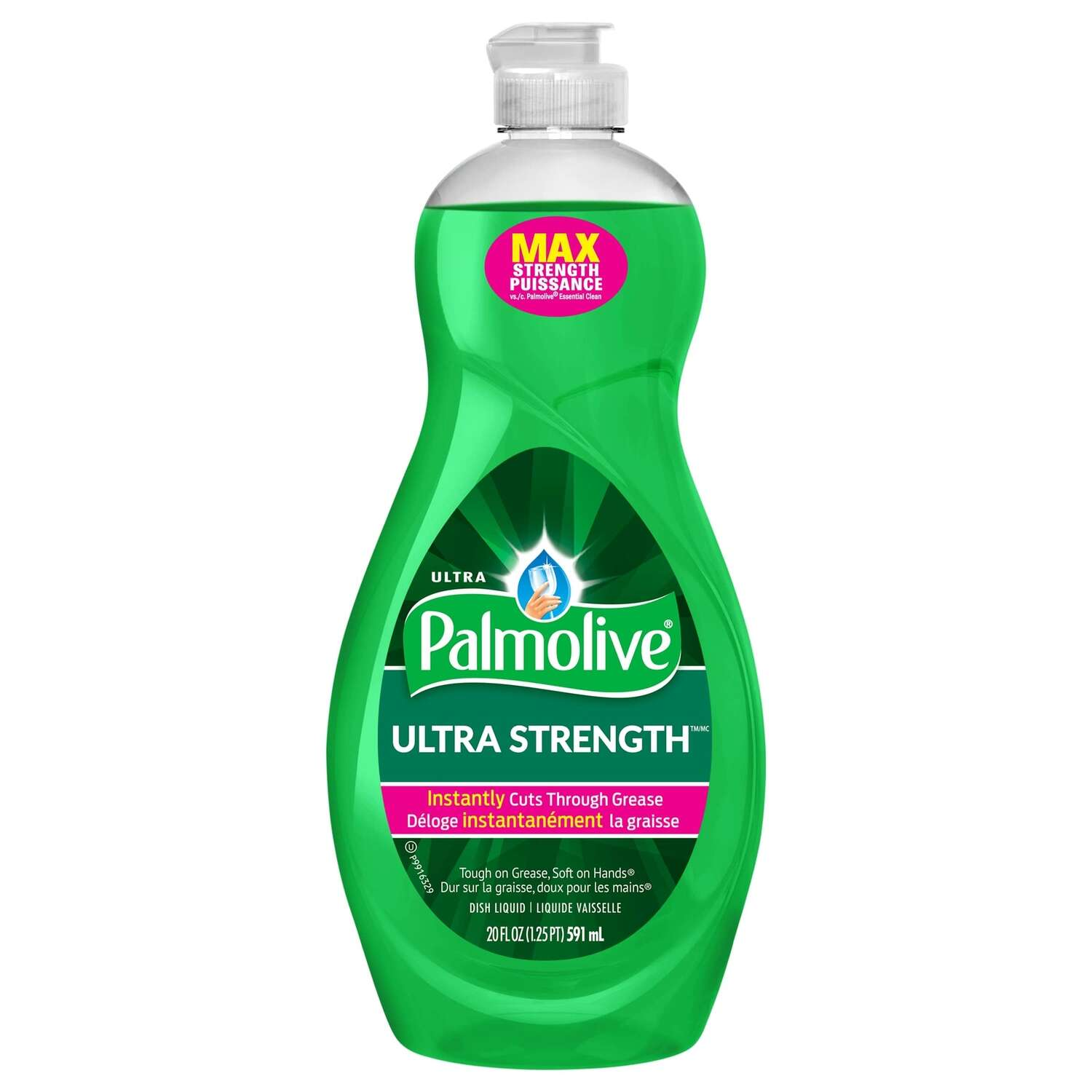 Palmolive  Ultra Strength  Citrus Scent Liquid  Dish Soap  20 oz.