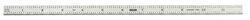 General Tools 12 in. L x 1/2 in. W Stainless Steel Precision Rule SAE