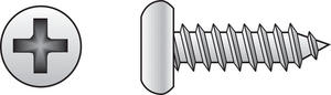 Hillman  12 in.  x 3/4 in. L Phillips  Pan Head Zinc-Plated  Steel  Sheet Metal Screws  100  1 pk