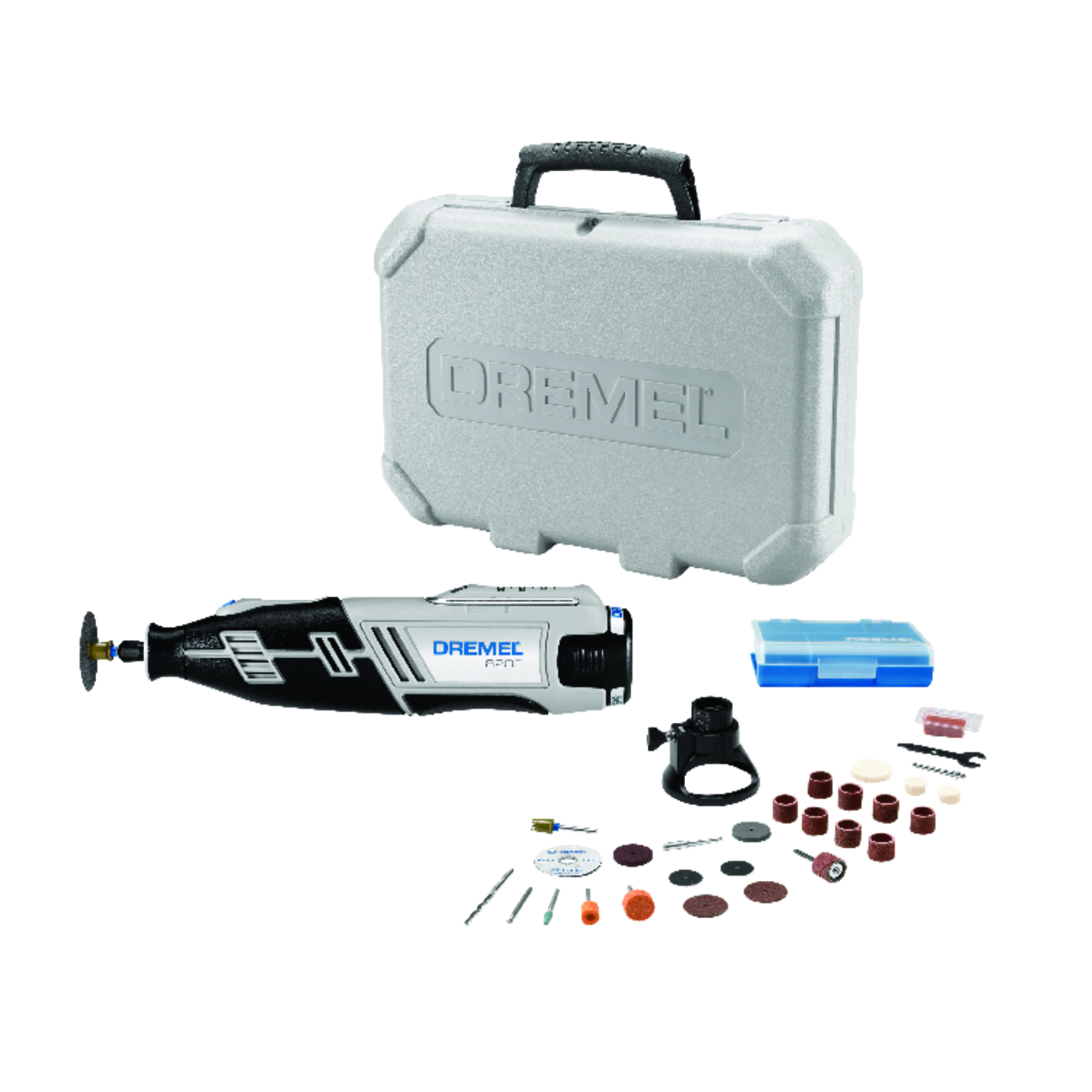 Dremel  1/8 in. Cordless  Rotary Tool  12 volts 35000 rpm 28 pc. Kit