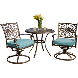Hanover  3 pc. Oil Rubbed Bronze  Bistro Set