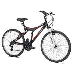 Kent  Shogun Shockwave  Men  26 in. Dia. Bicycle  Multicolored