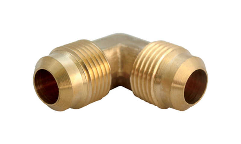 Ace  5/8 in. 5/8 in. Dia. Brass  Flare Elbow