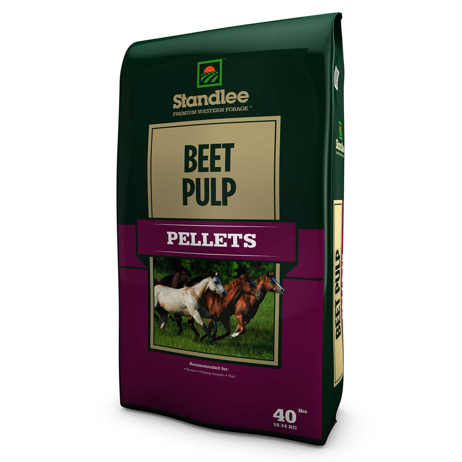 Standlee Premium Western Forage  Beet Pulp  Pellets  For Horses 40 lb.