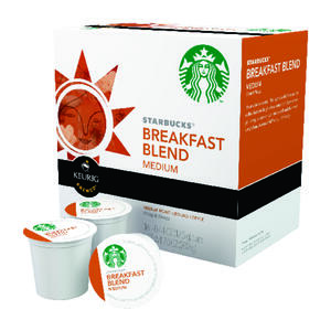 Keurig  Starbucks  Breakfast Blend Medium  Coffee K-Cups  16 pk