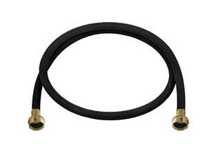 Ultra Dynamic Products  Washing Machine Hose  3/8 in. Dia. x 3/4 in. Dia. x 5 ft. L Rubber