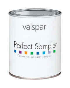 Valspar  Perfect Sample  Satin  Tintable  Acrylic Latex  Paint Sample  Indoor  1 pt.