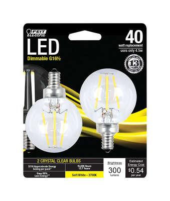 Feit Electric Mini Candelabra E12 Candelabra Led Bulb Soft White