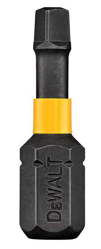 DeWalt  Impact Ready  Square Recess  #2 in.  x 1 in. L Screwdriver Bit  1/4 in. 10 pc. Black Oxide
