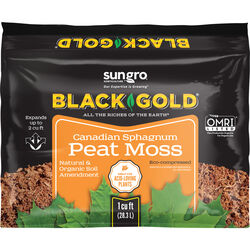 Black Gold Organic Sphagnum Peat Moss 1 cu. ft.