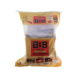 B&B  Post Oak  Cooking Logs  1.25 cu. ft.