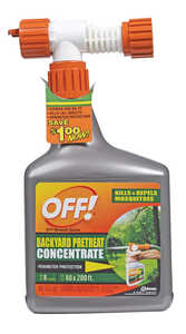 OFF!  Backyard Pretreat Concentrate  Insect Killer  32 oz.