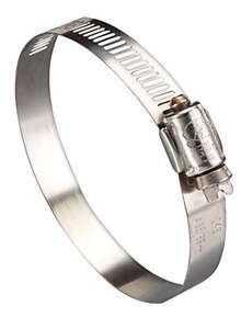 Ideal  3 in. 5 in. Stainless Steel  Hose Clamp