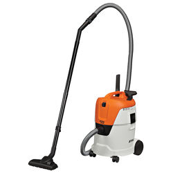 STIHL  6.6 gal. Corded  Wet/Dry Vacuum  8.3 amps 120 volt White  16.5 lb.