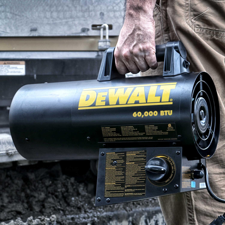 DeWalt 60000 BTU/hr  1500 sq  ft  Forced Air Propane