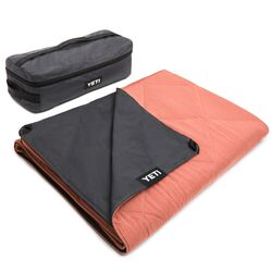 YETI Lowlands Coral Blanket/Throw 55 in. W x 78 in. L